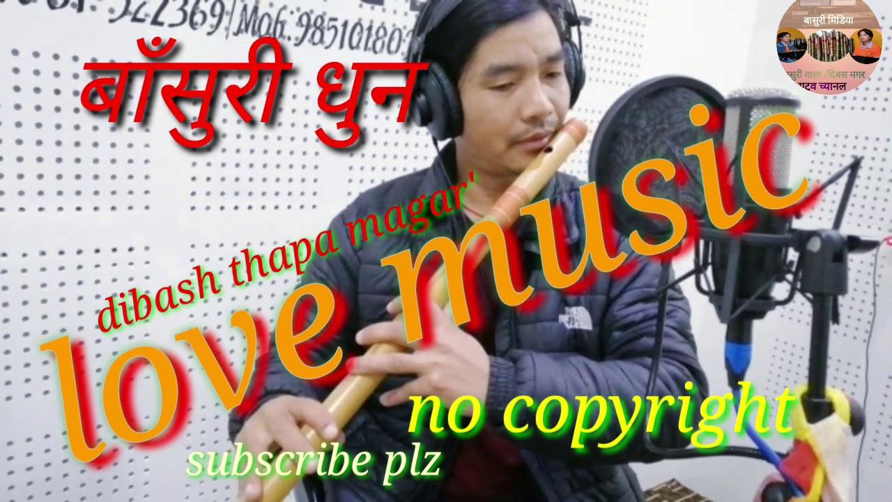 no copyright background nepali music flute / dibash thapa magar