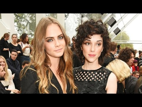 Cara Delevingne and Annie Clark s Cutest PDA Moments