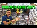 BOX FORT OF POKEMON CARDS! CHALLENGE! (OVER 1,000 CARDS!)