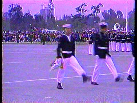 Parada Militar 1996 Chile:Escuela de Grumetes de la Armada de Chile