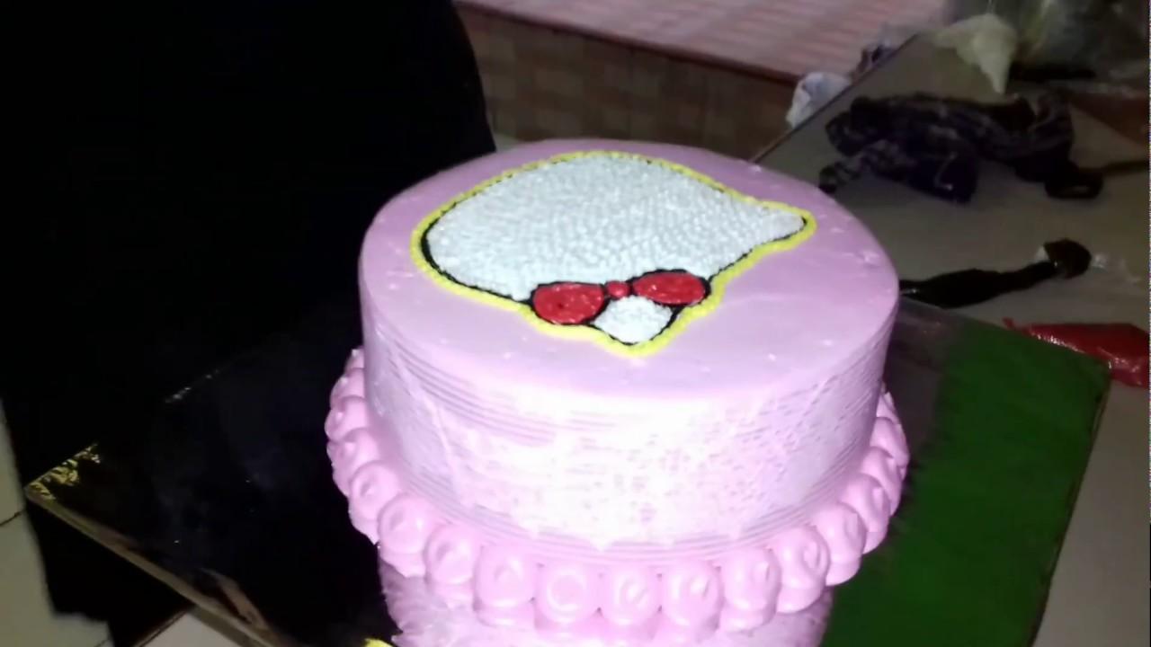 Kue Ulang Tahun Hello Kucing Garong Youtube