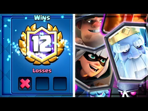 Clash Royale - EASY 12 WIN DECK! Super Control