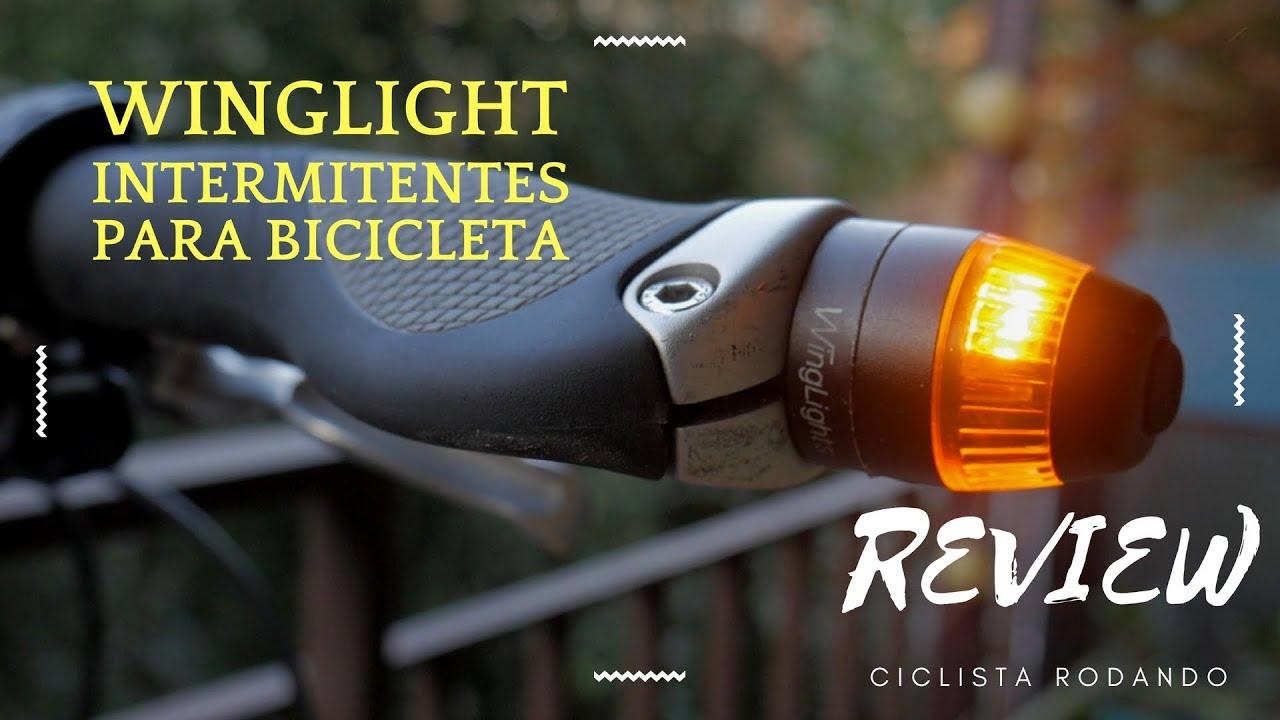 Luz LED intermitente para manillar de motocicleta JENOR