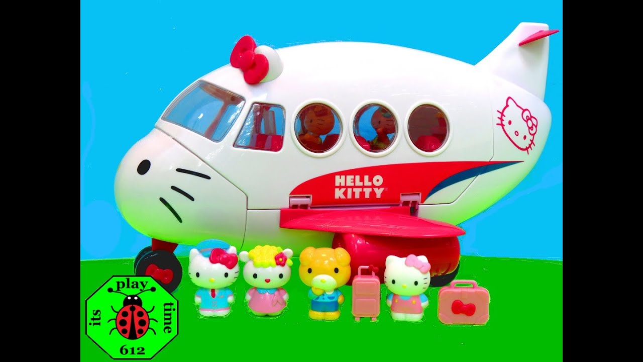 773d652e9d HELLO KITTY AIRLINE PLAYSET