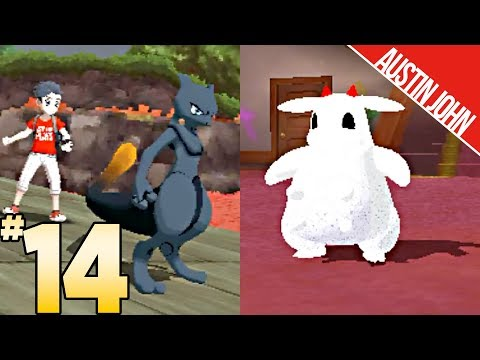 Shadow Mewtwo from Pokken Tournament, Ghost Miltank & More! ultraLOCKE EP14 | Austin John Plays