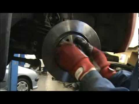 Front Disc And Pads Replacement Peugeot Partner Youtube
