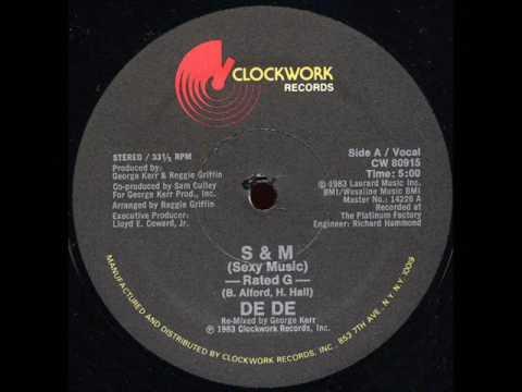 De De - S&M Sexy Music (Dj ''S'' Remix)