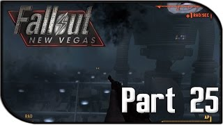 """Fallout: New Vegas Gameplay Part 25 - """"Securitron Army"""" (Fallout 4 Hype Let's Play!)"""