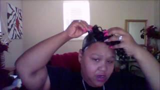 "Model Model ""Jerry Curl"" Boy-Girl Quick Weave Tutorial Pt 2"