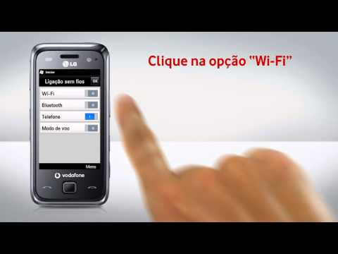 LG GM750 - Configuração de Wi-Fi