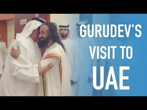 Gurudev Sri Sri Ravi Shankar's visit to the United Arab Emirates | 14 - 18 Nov 2018