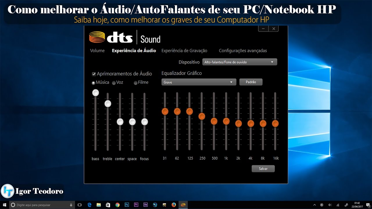 equalizador de som para pc windows 7