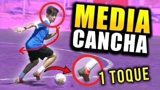 JUEGA LA MEDIA CON 1 TOQUE!! EJERCICIOS de fútbol para mediocampistas/centrocampistas/enganche