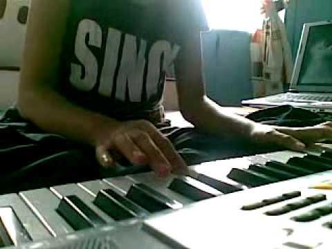 rindu setengah mati piano keyboard cover