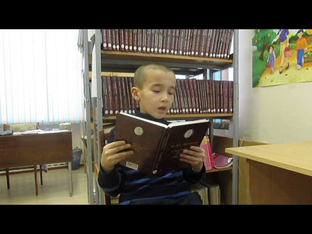Изображение предпросмотра прочтения – НикитаНаговицын читает произведение «Парус (Белеет парус одинокий…)» М.Ю.Лермонтова