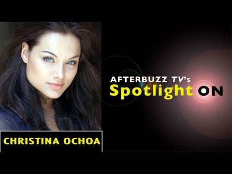 Christina Ochoa   AfterBuzz TV's Spotlight On