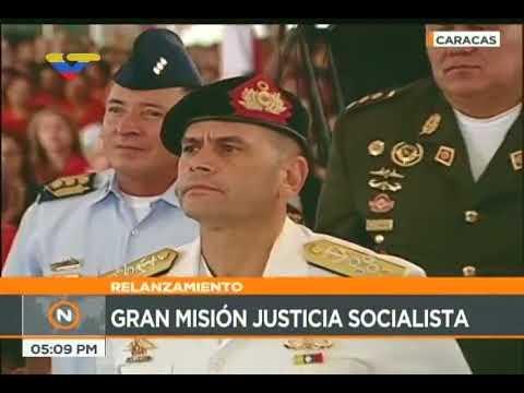 Presidente venezolano Nicolás Maduro en Misión Justicia Socialista, 17 noviembre 2017