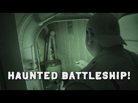 Ghost Hunting on Haunted USS Lexington! GR #11
