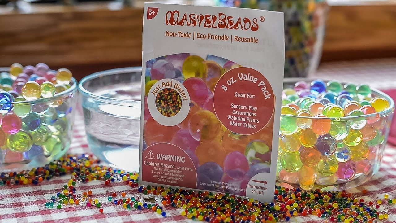 Marvel Beads Review Same As Water Beads Magic Gems Orbeez Super