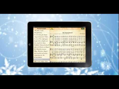 Die neue App von Heimatkanal! Die schönsten Weihnachtslieder mit Text und Noten!