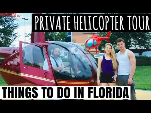 Night Out In Florida, Orlando Villa Tour,  Helicopter Tour | Things To Do In Orlando