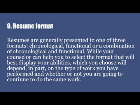 top 12 tips for writing an effective customer service resume youtube