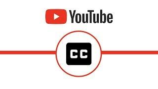 Caption settings on YouTube thumbnail