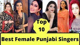 Top 10 Female Punjabi Singers   Most Beautiful Female Punjabi Singers of 2021  Gurlez Akhter  Kaur B