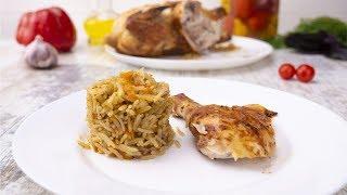 Курица, фаршированная рисом - Рецепты от Со Вкусом