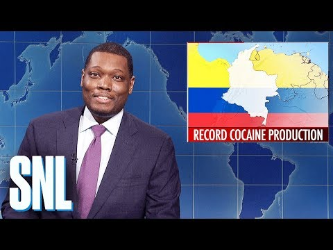 Weekend Update: Record Cocaine Production - SNL