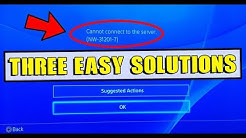 HOW TO FIX CANNOT CONNECT TO SERVER & DNS ERROR ON PS4 (NW-31456-9