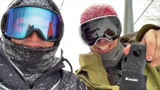 【自撮り最強】Insta360 ONE Xをスノーボードで実機レビュー