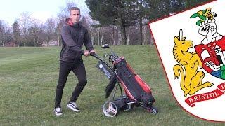 Golfing with Joe Bryan