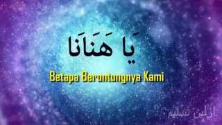 Video Ya Hanana - Habib Syech (Full with Malay Lyrics) download MP3, 3GP, MP4, WEBM, AVI, FLV Juli 2018