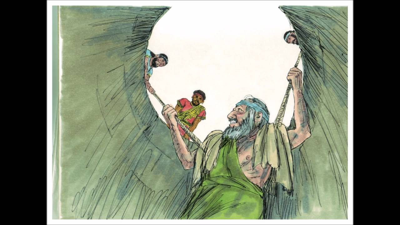 The Prophet Jeremiah In The Dungeon Cistern Bible Story