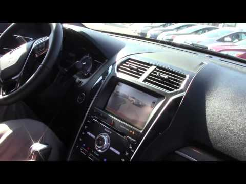 2016 Ruby Red Ford Explorer Sport 4x4 Interior Feature Highlights