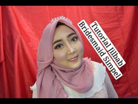 Tutorial Hijab Segi Empat Dengan Mahkota The Latest Septa Tutorial