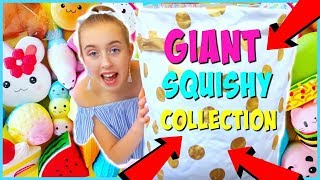 My GIANT Squishy Collection and Haul 2017 - Millie and Chloe