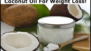 coconut oil for weight loss what dr oz says