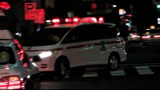 救助現場に到着した日本医科大学付属病院高度救命救急センターのドクタ...