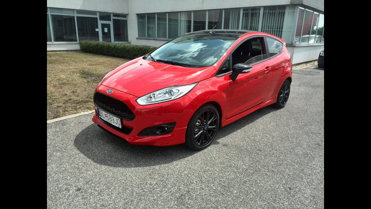 ford fiesta red edition 1 0 ecoboost 130kw 140k youtube. Black Bedroom Furniture Sets. Home Design Ideas