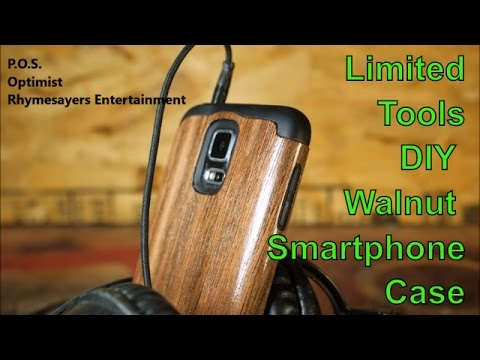 DIY Walnut Smartphone Case Music Optimist by POS