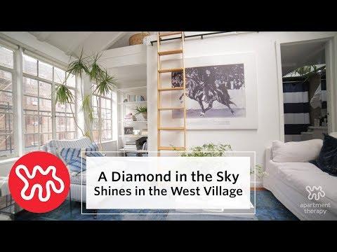 House Tour: A West Village Apartment Shines Like A Diamond