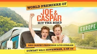 Joe & Caspar Hit The Road Red Carpet Premiere Live Stream