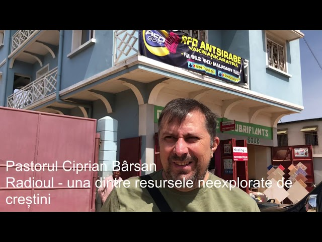 Pastorul Ciprian Bârsan