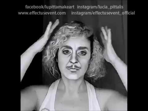 LUCIA PITTALIS - Makeup Transformations - Dr.Frederick Frankenstein Makeover