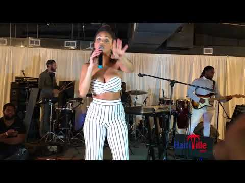 "Phyllisia Ross performs ""Di Mwen"" at Creole Girl Magic Event"