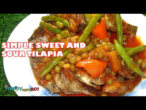Sweet And Sour Tilapia | Sobrang Sarap | How To Cook Sweet And Sour Tilapia