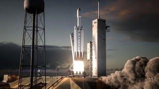 Falcon Heavy  Best  Flight Animation