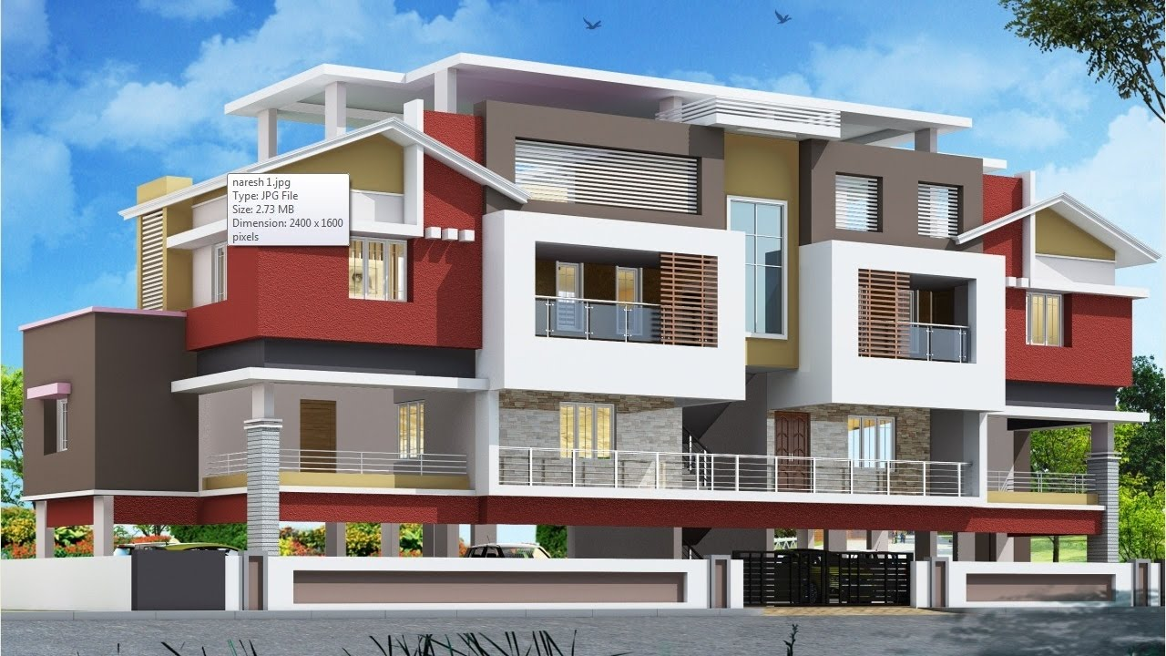 Architectural Rendering 3ds Max Vray 03 For Naresh Nmpt Youtube